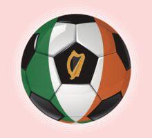 Ireland - Irish Flag - Football or Soccer Kids Clothes
