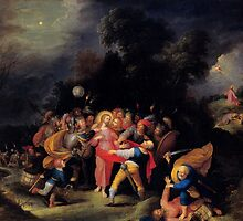 'Capture of Christ' by Frans Francken the Younger by Legacy1Gallery