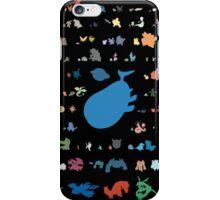 3rd gen pokemons miinimalism iPhone Case/Skin