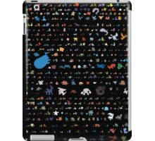 all pokemons minimalism design iPad Case/Skin
