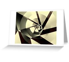 Fracture Greeting Card