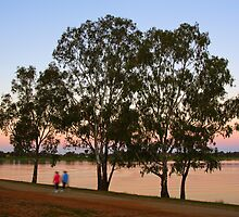 Lake Albert at Wagga Wagga by Darren Stones