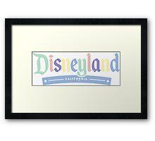 Disneyland California  Framed Print
