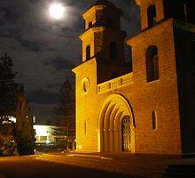 St. Francis Xavier Cathedral  by Danika & Scott Bennett-McLeish