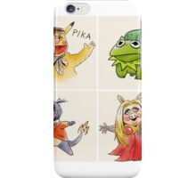muppets crossover pokemon  iPhone Case/Skin