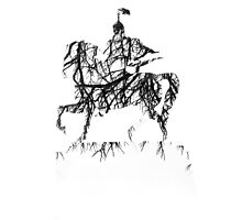 Manas on the horse by bolshakov