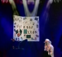Leon Russell Art, Giant Birthday Card by L. R. Emerson II, 1993 by L R Emerson II
