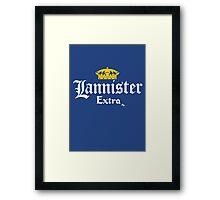 Lannister Extra Framed Print