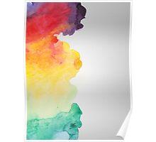 Watercolour Spectrum Poster