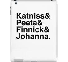 Katniss & Peeta & Finnick & Johanna. iPad Case/Skin