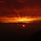 Chisos fireball by Lacy O.