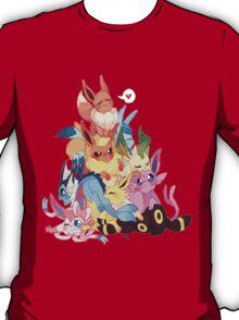 eevee cool evolutions design  T-Shirt