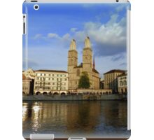 Limmat at Dusk iPad Case/Skin