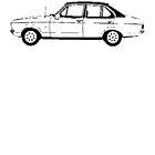 1978 Ford Escort Ghia by garts