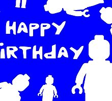 Happy Birthday by Customize My Minifig