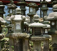 Stone Lanterns by Faustus