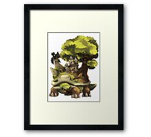 marowak ghost dep on torterra's back Framed Print