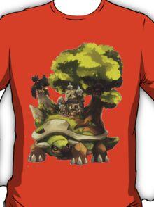 marowak ghost dep on torterra's back T-Shirt