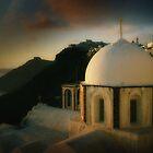 Santorini by wellman