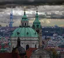 Prague City View by Mark Wilson