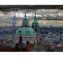 Prague City View Photographic Print