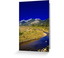 Autumn in The High Country Greeting Card