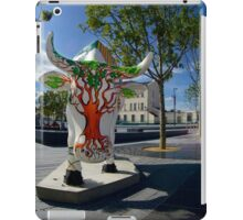 Cows and Trees, Ebrington Square, Derry iPad Case/Skin