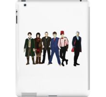Doctor Who - The Six Doctors iPad Case/Skin