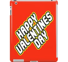HAPPY VALENTINES DAY iPad Case/Skin