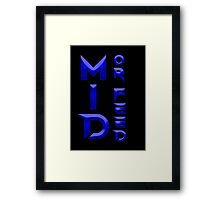 Mid or Feed Framed Print