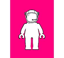 Banksy Style Astronaut Minifig, Customize My Minifig Photographic Print