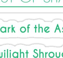 Champion Akali Skill Set In Green Sticker