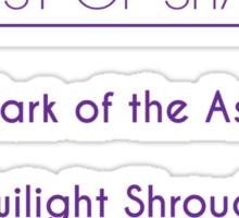 Champion Akali Skill Set In Purple Sticker