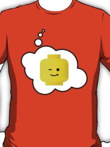 Minifig Winking Head, Bubble-Tees.com T-Shirt