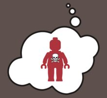 Minifig with Skull, Bubble-Tees.com by Bubble-Tees