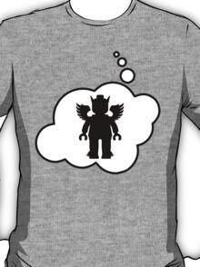 Minifig Greek God, Bubble-Tees.com T-Shirt