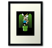 The Finnooki Suit Framed Print