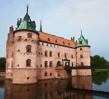 Egeskov castle Funen Denmark  by Ron Zmiri