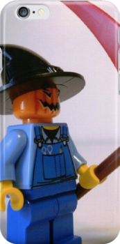 Scary Scarecrow Minifigure with Scythe  by Chillee