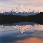 Reflecting on Sunset by Randy Richards