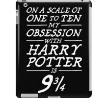 Harry Potter Obsession iPad Case/Skin