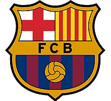 FCBarcelona Photographic Print