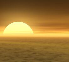 Desert Sunset by DLKeur