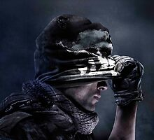 Call of Duty Ghost by TheCatThatFlys