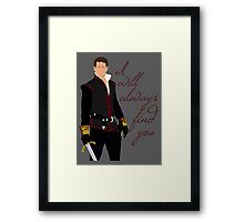 Ever Charming, My Prince Framed Print