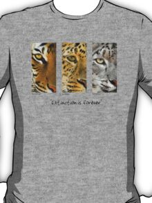 """""""Extinction is forever"""" T-Shirt"""