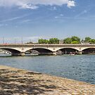 Bridge Over the Seine, Paris, France #2 by Elaine Teague