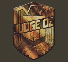 Custom Dredd Badge - Judge Oz by CallsignShirts