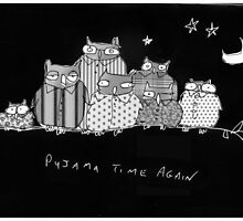 Pyjama time again by Matt Mawson