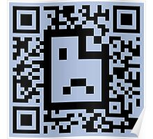 QR code - Webpage not available Poster